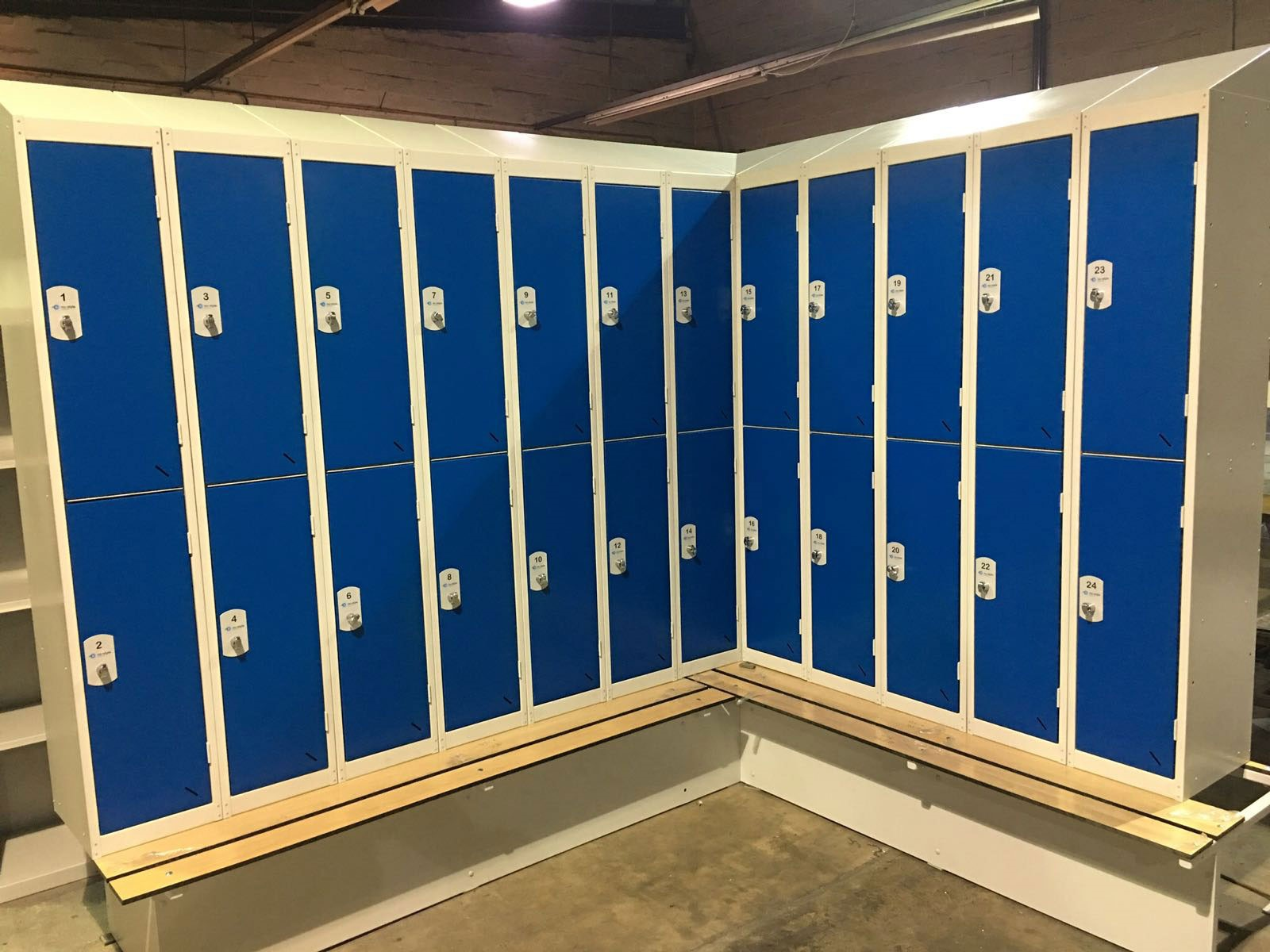 Nu-Alloy Lockers