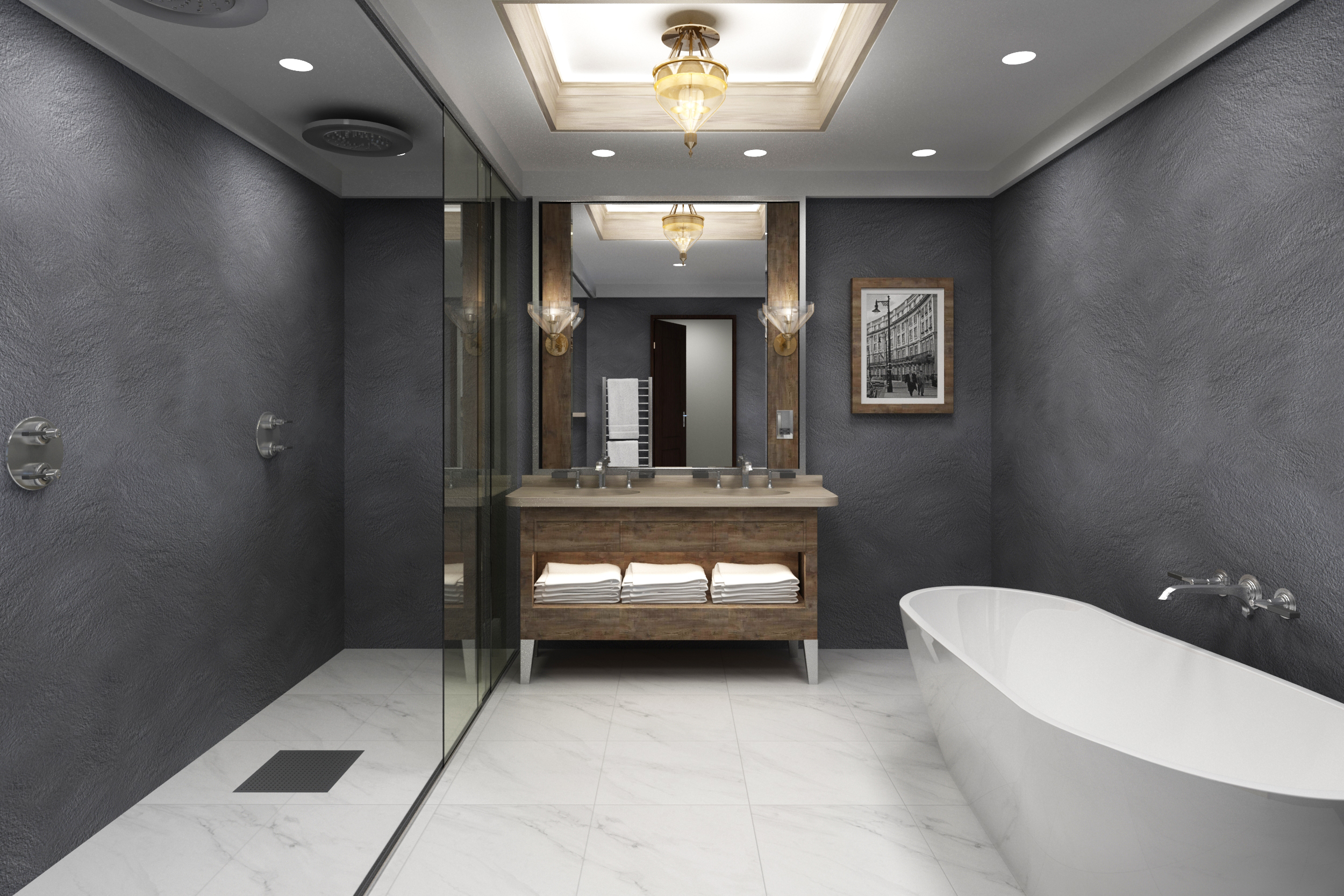 are bathroom panels better than tiles